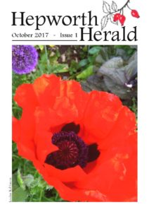 Image of front cover of Hepworth Herald 2017-10