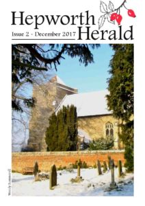 Image of front cover of Hepworth Herald 2017-12