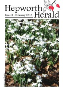 Image of front cover of Hepworth Herald 2018-02
