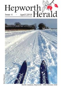 Image of front cover of Hepworth Herald 2018-04