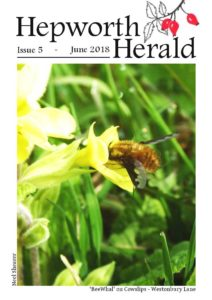 Image of front cover of Hepworth Herald 2018-06