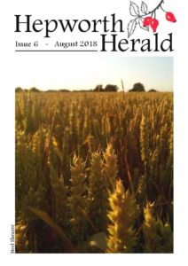 Image of front cover of Hepworth Herald 2018-08