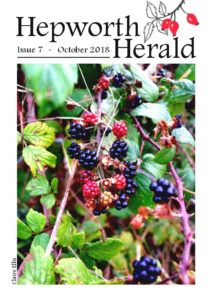 Image of front cover of Hepworth Herald 2018-10
