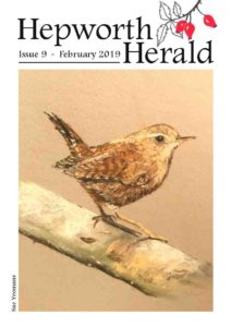 Image of front cover of Hepworth Herald 2019-02