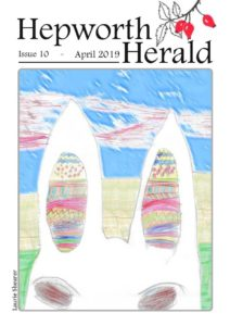 Image of front cover of Hepworth Herald 2019-04