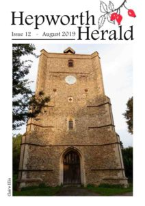Image of front cover of Hepworth Herald 2019-08