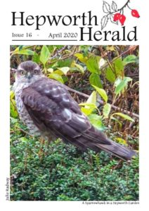 Image of front cover of Hepworth Herald 2020-04