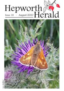 Image of front cover of Hepworth Herald 2020-08