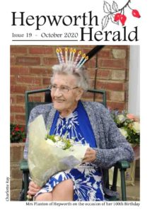 Image of front cover of Hepworth Herald 2020-10