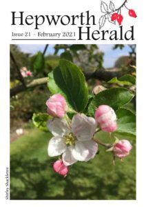 Image of front cover of Hepworth Herald 2021-02