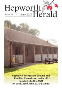 Image of front cover of Hepworth Herald 2021-06