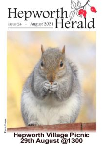 Image of front cover of Hepworth Herald 2021-08